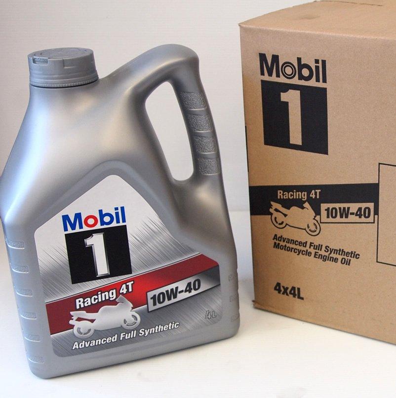 Mobil 1 Racing 4T 10w40 4×4 Litre