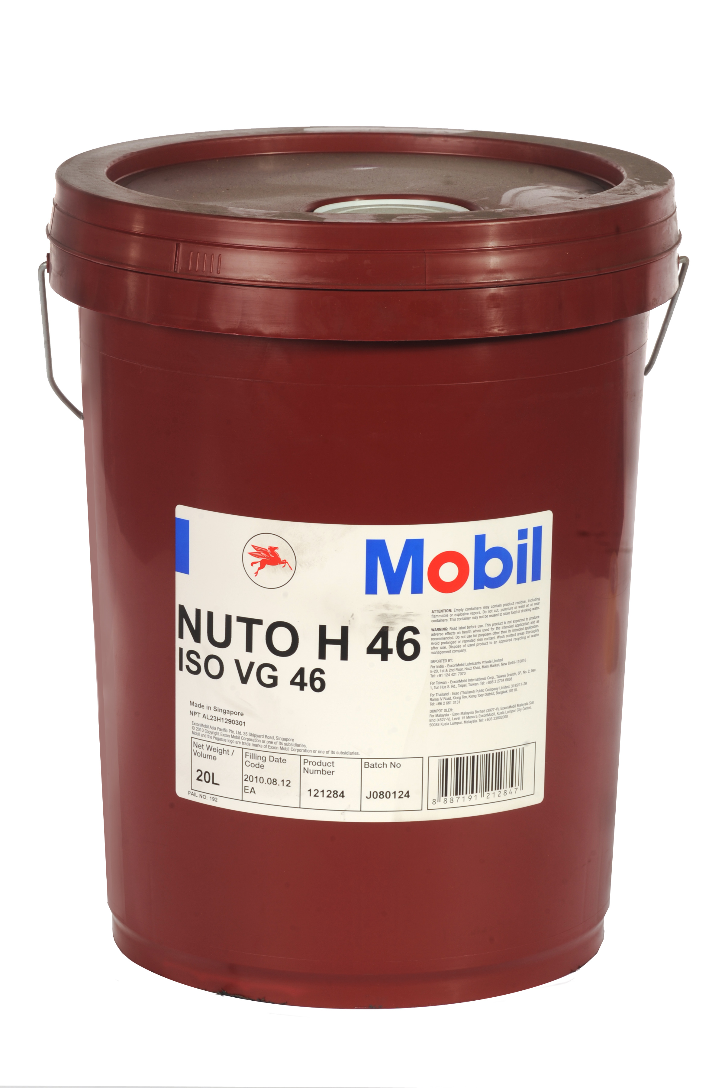 46 Email Oils Contact Usco Ltd Mail: NUTO H 46
