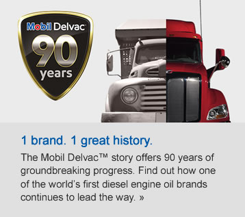 History of Mobil Delvac