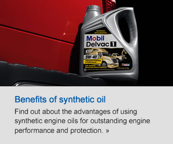 Benefits of synthetic oil