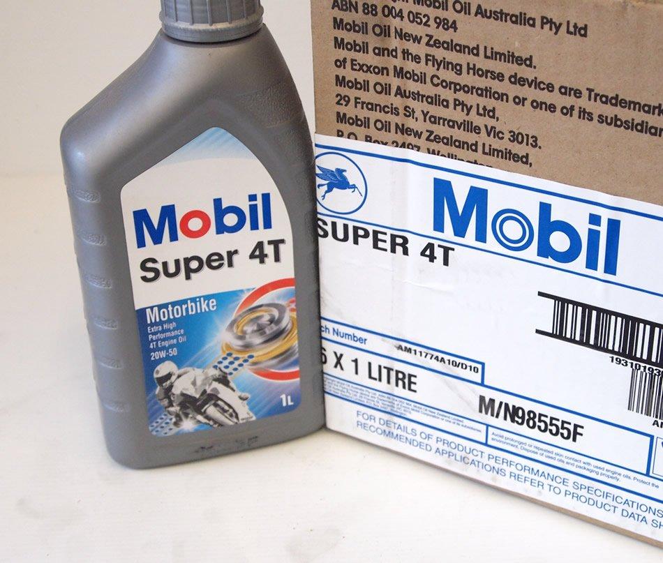 Mobil Super 4t 20w50 12x1lt Box