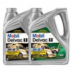 mobil-delvac-1-diesel-engine-oil-bottles
